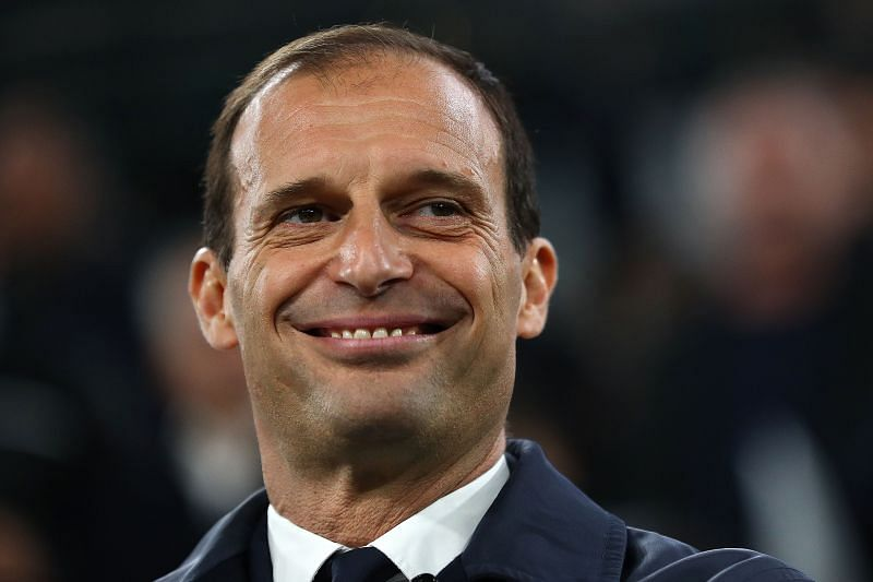 Juventus manager Massimiliano Allegri. (Photo by Michael Steele/Getty Images)