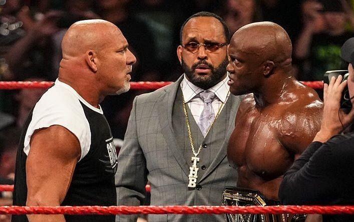 Goldberg returned on WWE RAW last month