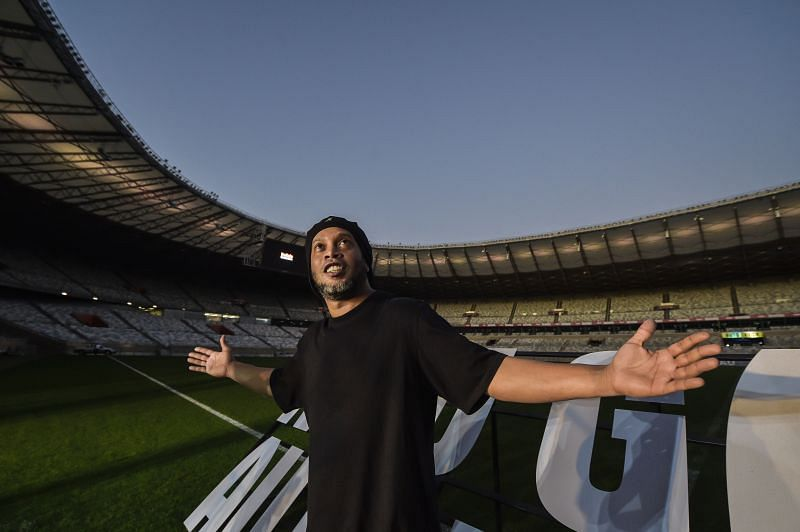 Ronaldinho Gaucho won the Ballon d'Or award in 2005.