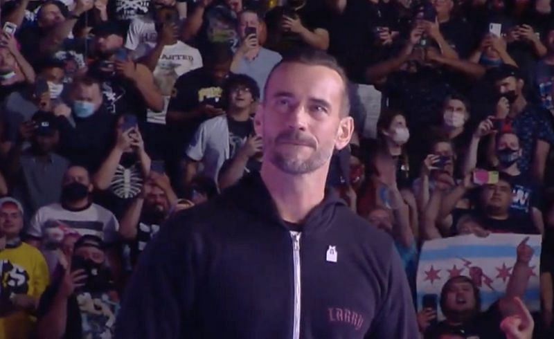 CM Punk will be wrestling his first match in Chicago next month!