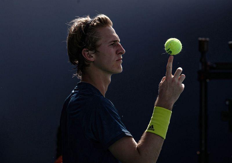 Sebastian Korda is the hottest prospect in American men's tennis.
