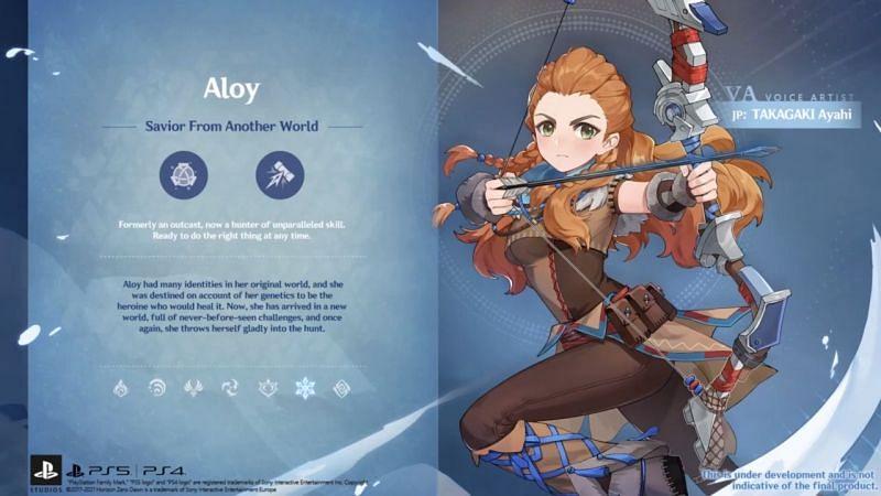 Aloy Live 2.1 (Gambar melalui Genshin Impact)