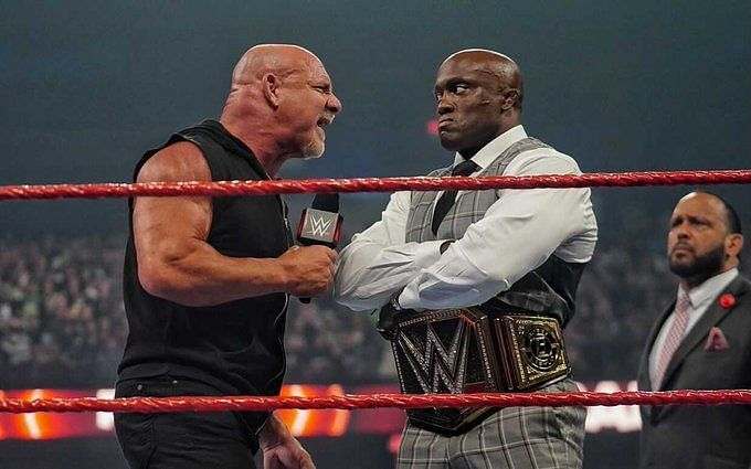 Goldberg and Bobby Lashley came face to face once again