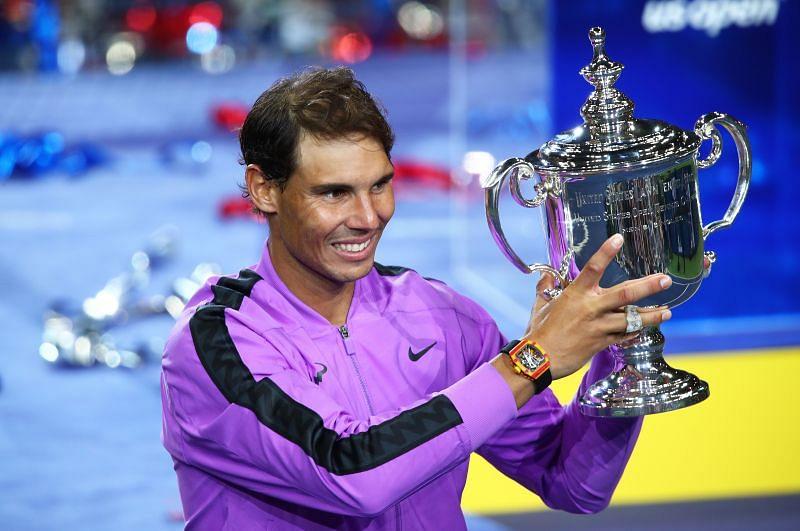 Rafael Nadal at the 2019 US Open