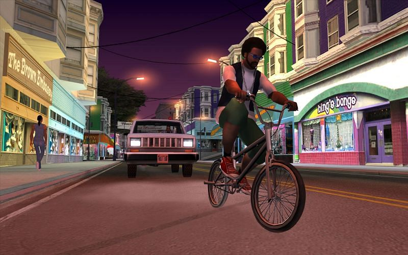 Cheats increase the fun in GTA San Andreas (Image via Rockstar Games)