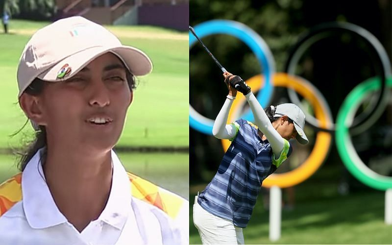 Indian golfer Aditi Ashok is on the verge of a medal [Image Credits: LPGA/Twitter]