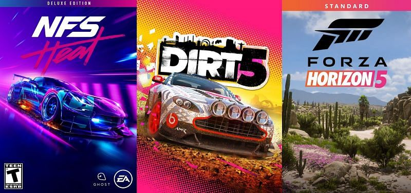 Top 5 racing video game franchise (image by EA, Xbox)