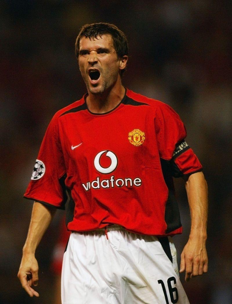 Roy Keane of Manchester United