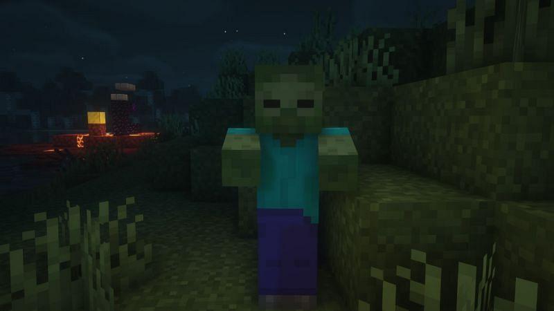 Zombies en el juego (Imagen a través de Minecraft)