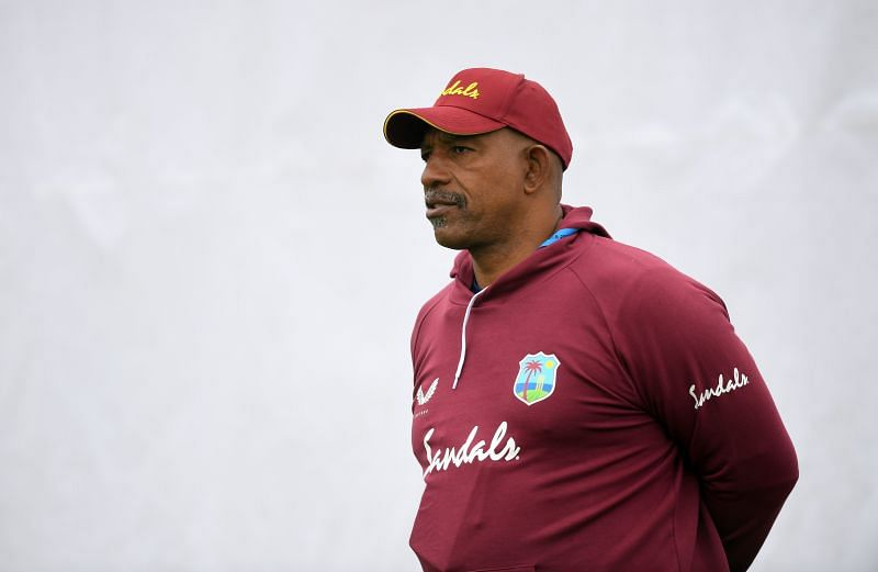 West Indies' coach Phil Simmons