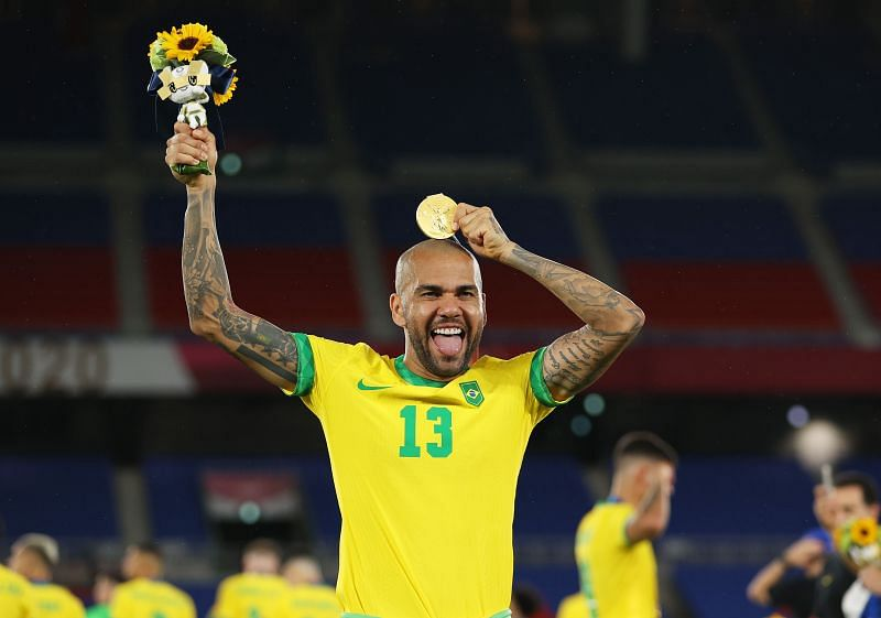 Alves recently captained his side to Olympic glory