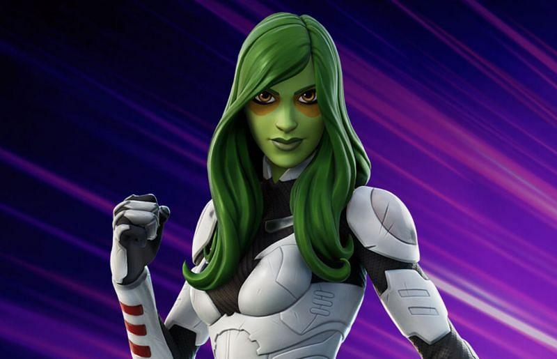 Gamora arrives in Fortnite (Image via Epic Games)