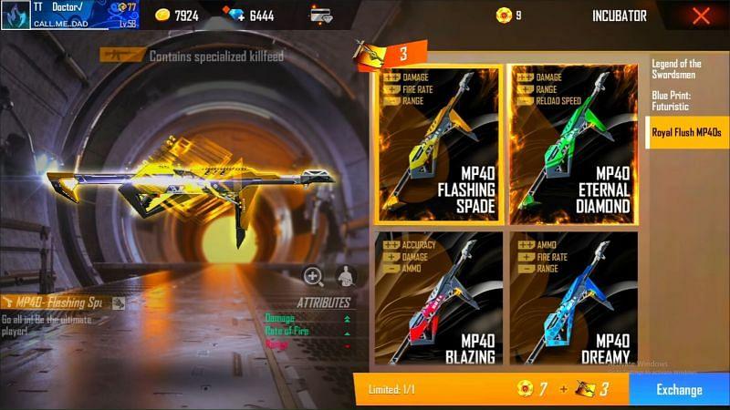 Pemain harus menukar sejumlah token untuk mendapatkan skin senjata (Gambar melalui TITANIUM GAMER/YouTube)