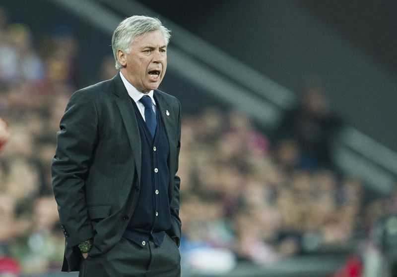 Real Madrid manager Carlo Ancelotti. (Photo by Juan Manuel Serrano Arce/Getty Images)
