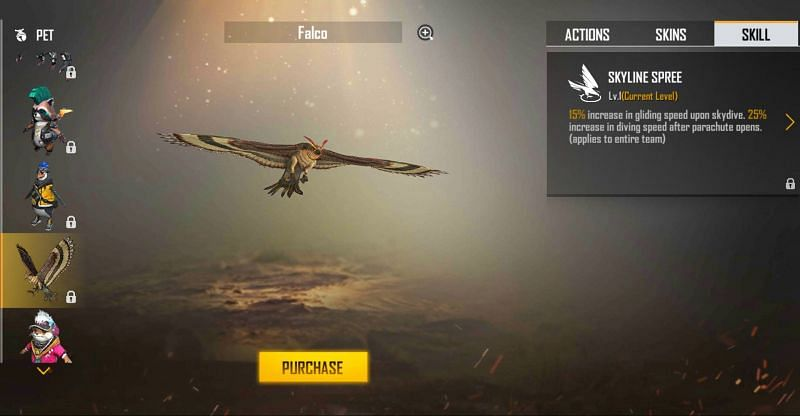 Falco (Image via Free Fire)