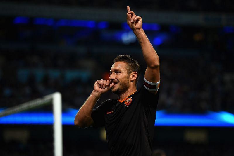 Francesco Totti remains the King of Rome