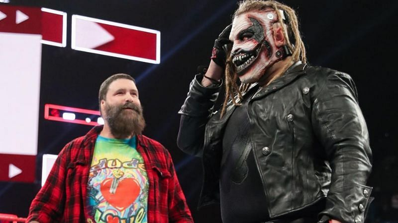 Mick Foley and Bray Wyatt's The Fiend character