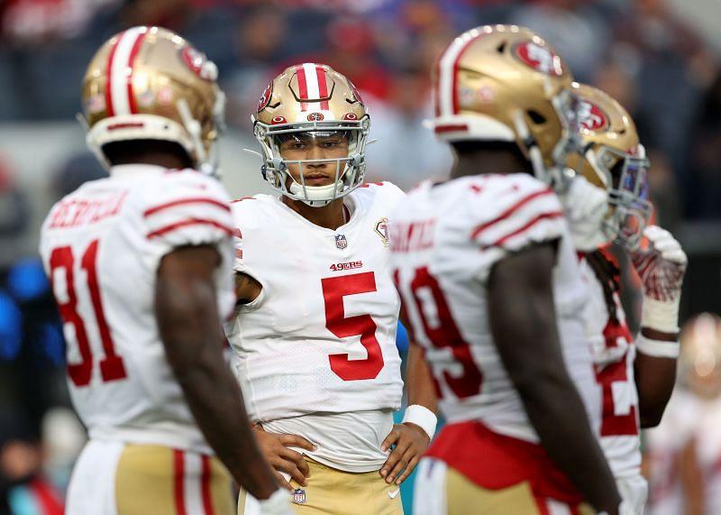 San Francisco 49ers - <a href='https://www.sportskeeda.com/player/trey-lance' target='_blank' rel='noopener noreferrer'>Trey Lance</a>