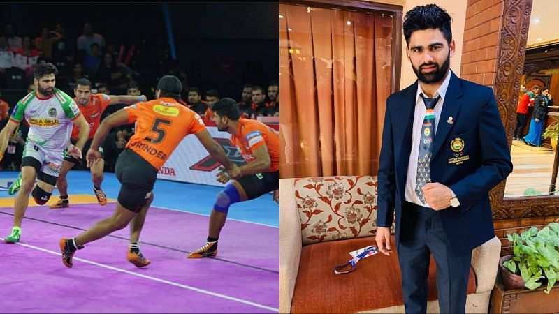 Pardeep Narwal played four seasons for the Patna Pirates in Pro Kabaddi League