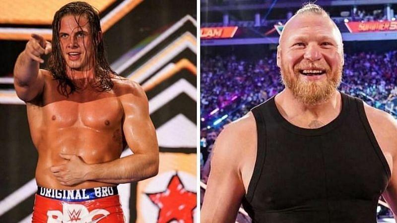 WWE सुपरस्टार रिडल ने एक बार फिर ब्रॉक लैसनर पर तंज कसा