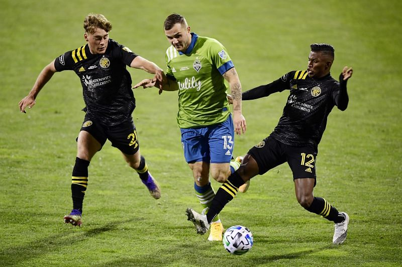 Seattle Sounders take on Columbus Crew this weekend