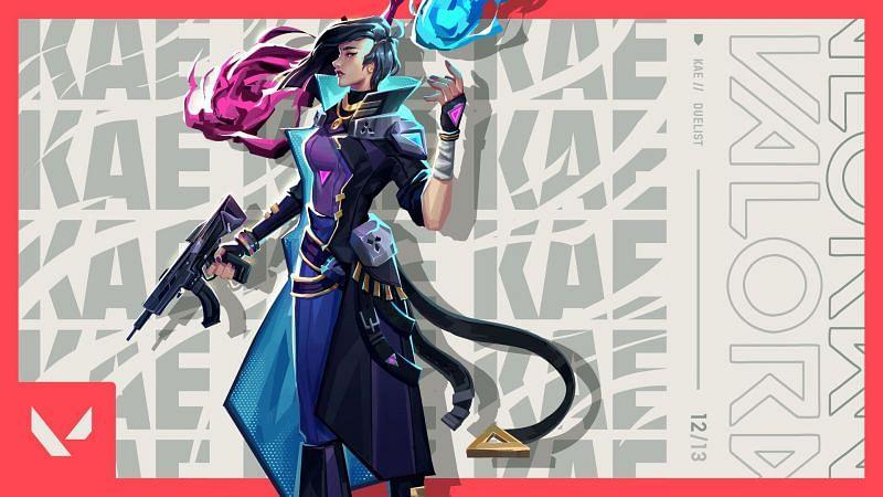 Kae, a hero from dystopian future. (Image via Devin Yang)