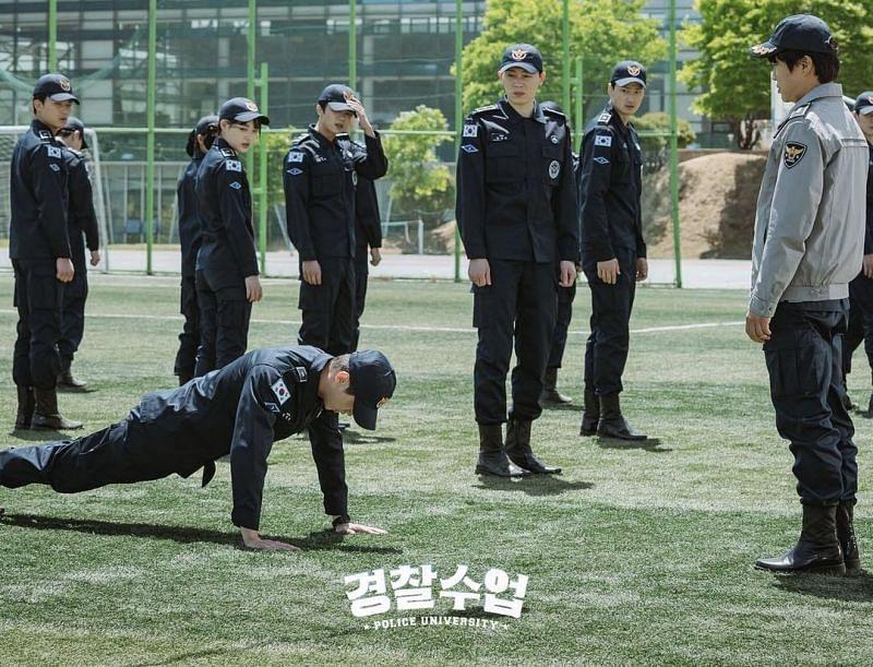 A still from Police University Episode 2 (Image via Instagram)