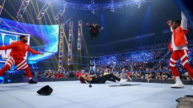 WWE SmackDown में दिखा तगड़ा एक्शन
