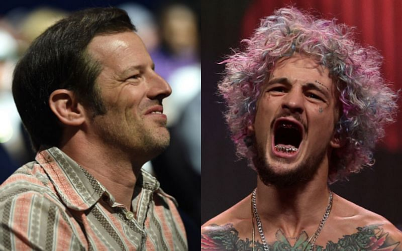 Sean Shelby (left) and Sean O'Malley (right) had a disagreement after the latter turned down a fight at UFC 268
