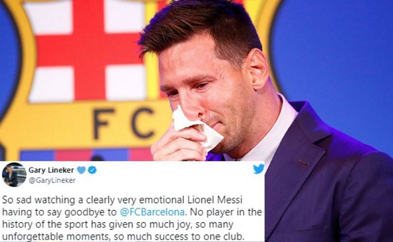 Twitter explodes as Lionel Messi bids emotional farewell to Barcelona