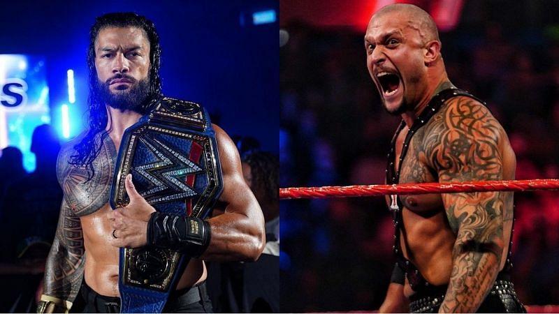 WWE यूनिवर्सल चैंपियन रोमन रेंस और पूर्व NXT चैंपियन कैरियन क्रॉस