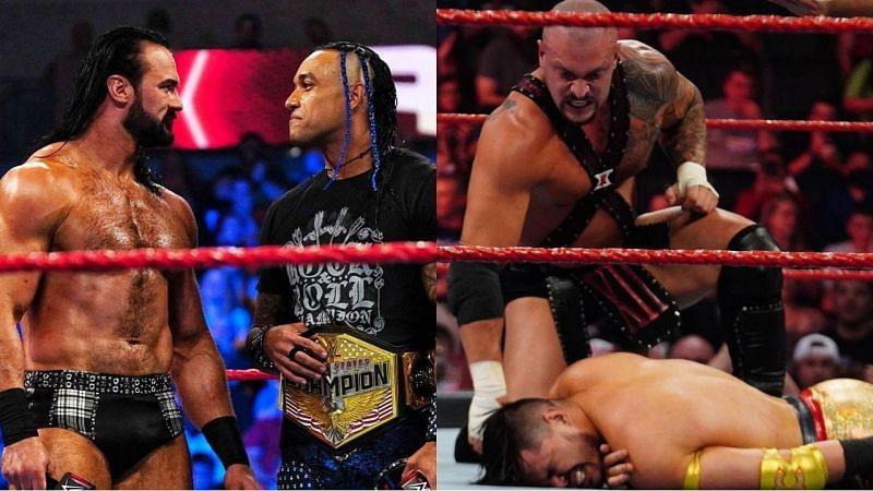 WWE Raw के इस हफ्ते के शो के दौरान कुछ रोचक चीजें देखने को मिली थी