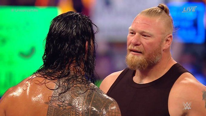 Brock Lesnar returned to WWE as a babyface in 2015