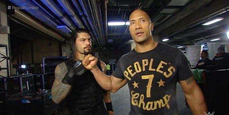 रोमन रेंस और द रॉक का मैच WWE में कब होगा?