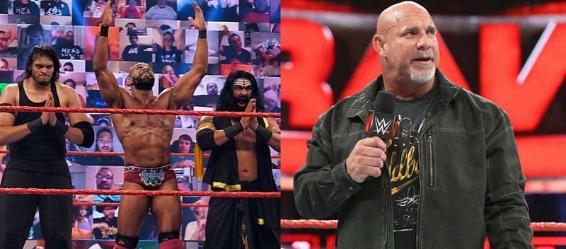WWE Raw में जिंदर महल और गोल्डबर्ग अपनी-अपनी स्टोरीलाइंस आगे बढ़ाते हुए दिखाई देंगे