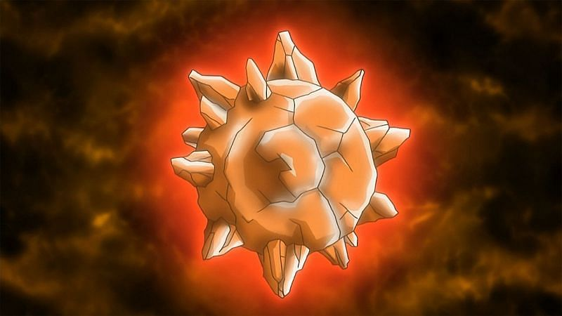 A Sun Stone as it appears in the anime (Image via The Pokemon Company)