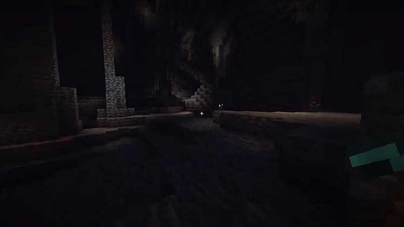 डीप डार्क डे (Minecraft के माध्यम से छवि)