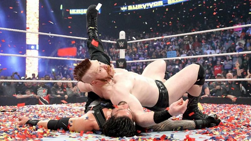 Sheamus won the WWE Championship from Roman Reigns in 2015