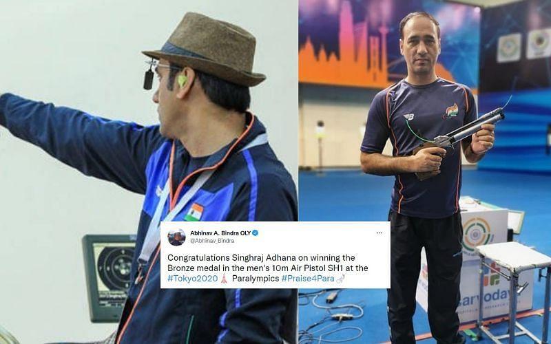 Indian shooter Singhraj wins bronze at Paralympics