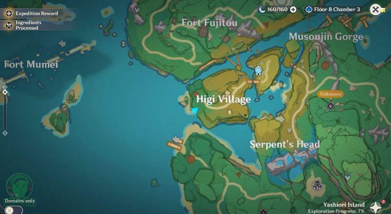 Ubicación de la segunda tumba simple en el mapa (Imagen HDRsaputra, vía Youtube)