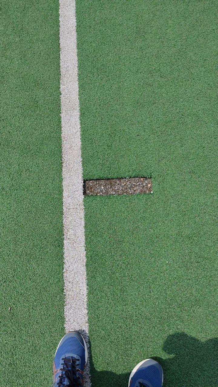 Hockey pitch in Rourkela