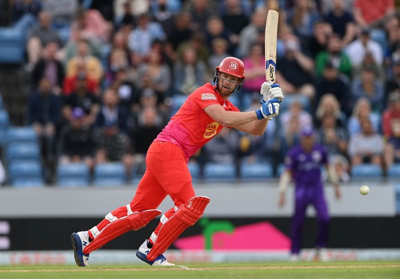 Jimmy Neesham is currently playing for Welsh Fire in Men's Hundred 2021