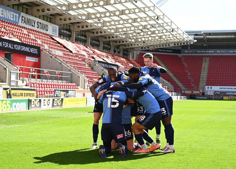 Wycombe Wanders will take on Wigan Athletic