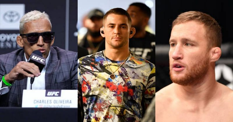 UFC news: Justin Gaethje gave a forecast for a lightweight title fight between Dustin Poirier and Charles Oliveira