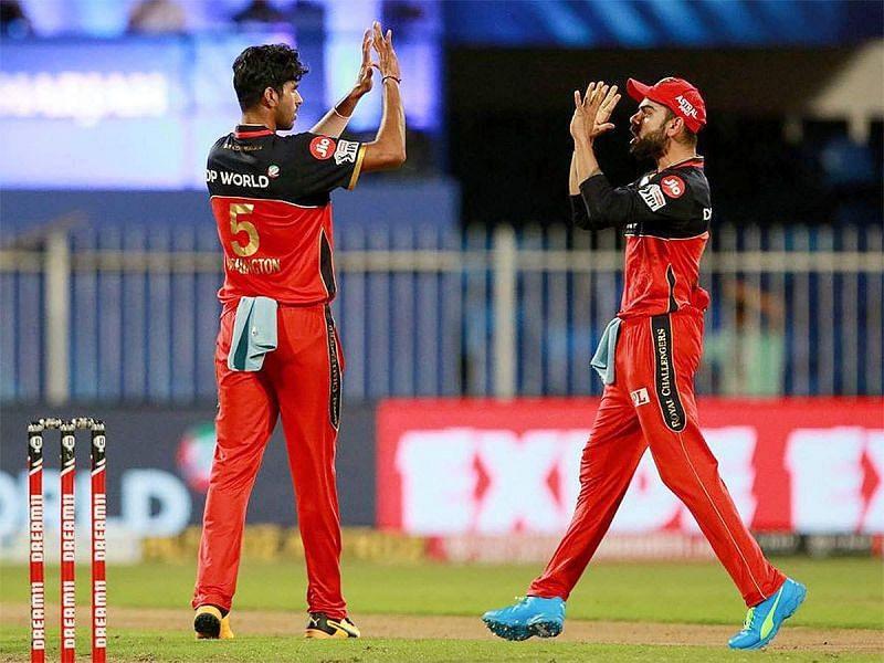 वॉशिंगटन सुंदर रॉयल चैलेंजर्स बैंगलोर की टीम के एक अहम खिलाड़ी हैं
