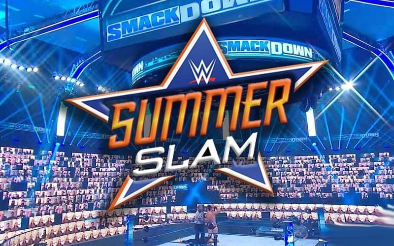 SummerSlam 2020 at the WWE ThunderDome
