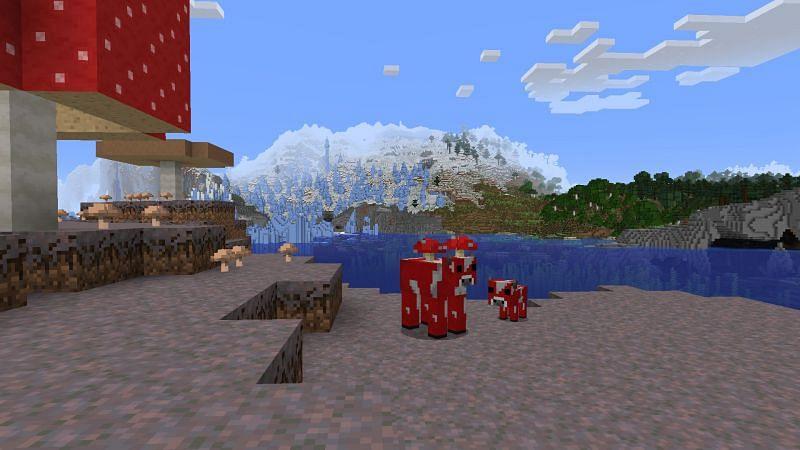 Peaceful scenery (Image via Minecraft)