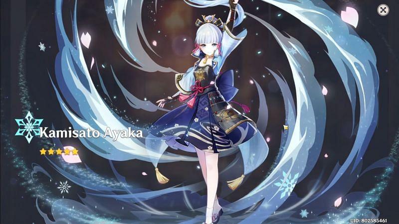 Ayaka (gambar via miHoYo)