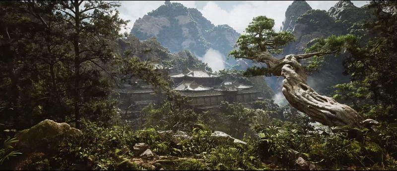 (Gambar melalui Black Myth: Wukong Unreal Engine 5 Gameplay Trailer)