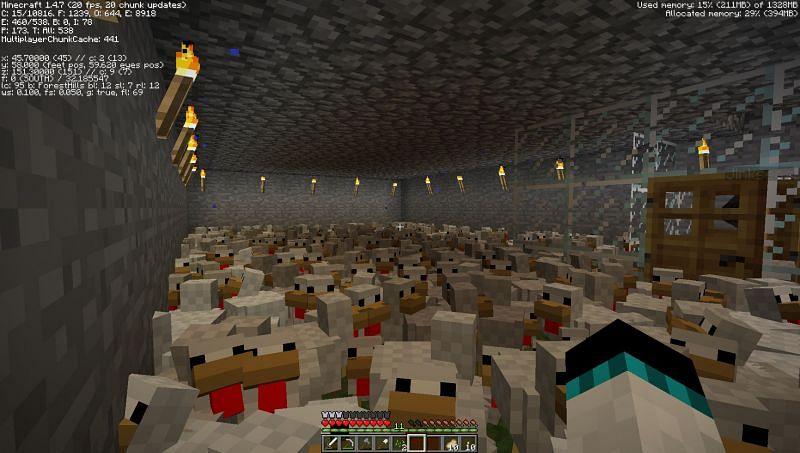 A massive chicken farm (Image via u/MaPi_svk on Reddit)
